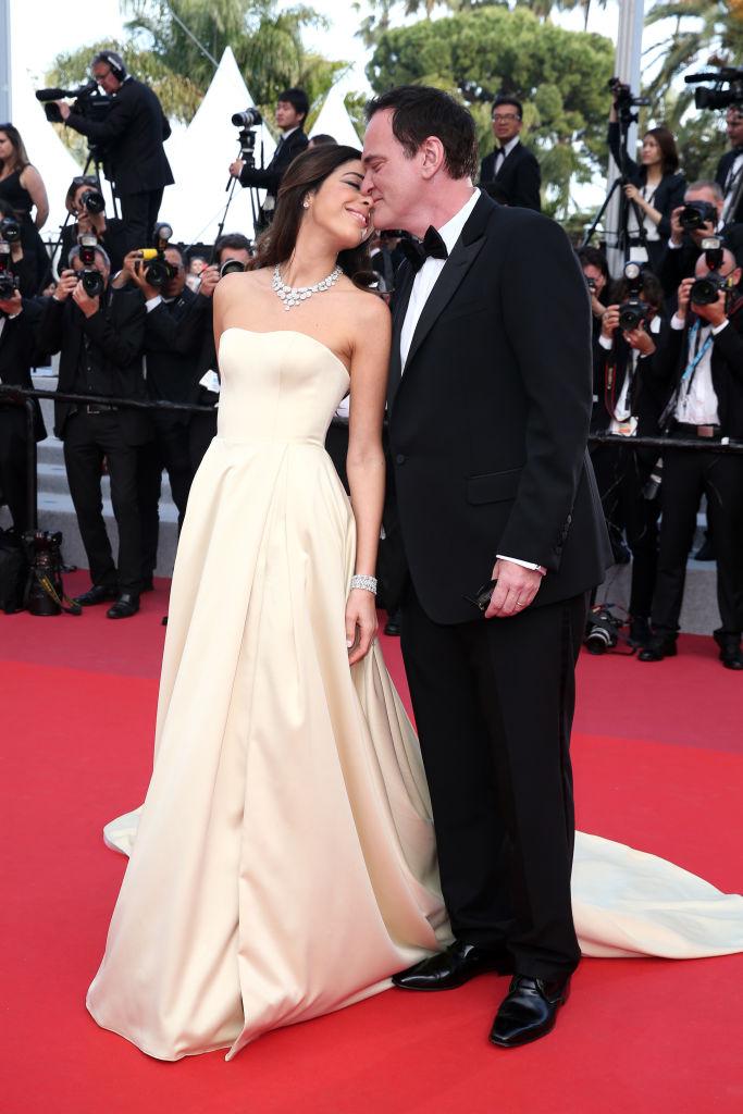 Тарантино с женой