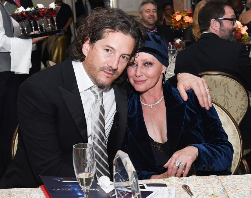 Шеннон Доэрти с мужем
