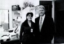 Моника Левински и Билл Клинтон
