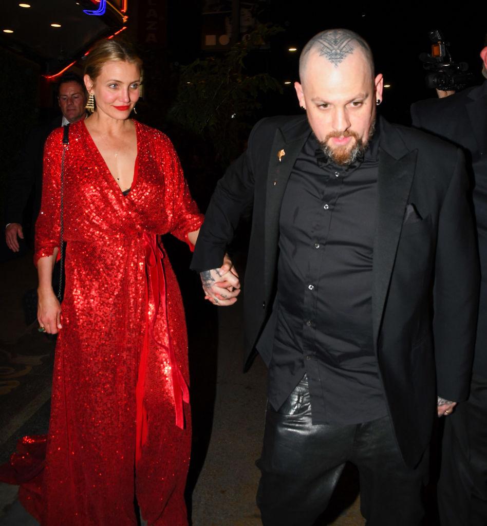 Камерон Диас с мужем