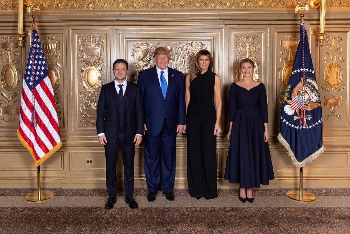 Встреча Зеленского с Трампом
