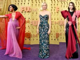 красная дорожка Emmy Awards 2019