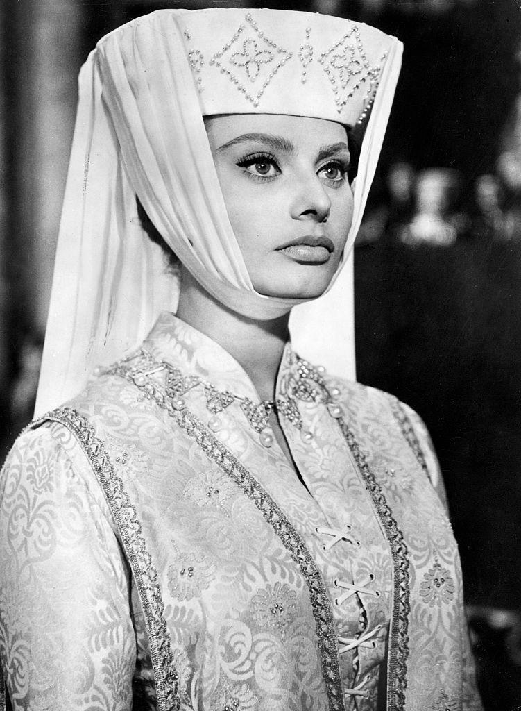 В фильме «Эль Сид», 1961 год