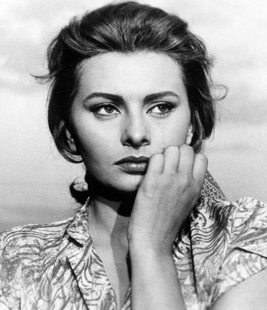 Софи София Лорен фото в юности в молодости