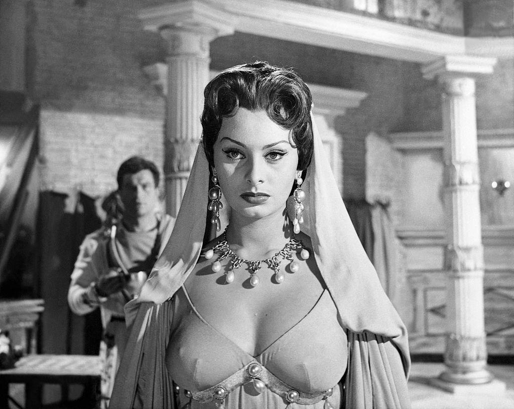 В фильме «Аттила», 1954 год