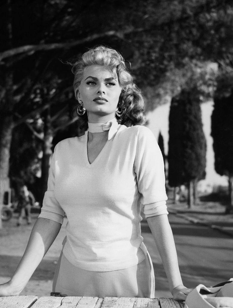 В фильме «Dommage que tu sois une canaille», 1954 год