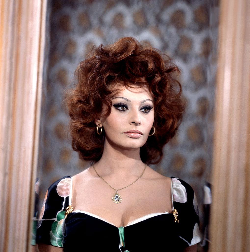 В фильме «Брак по-итальянски», 1964 год