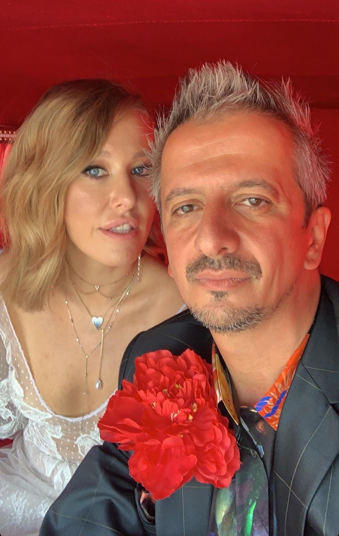 Свадьба Собчак и Богомолова