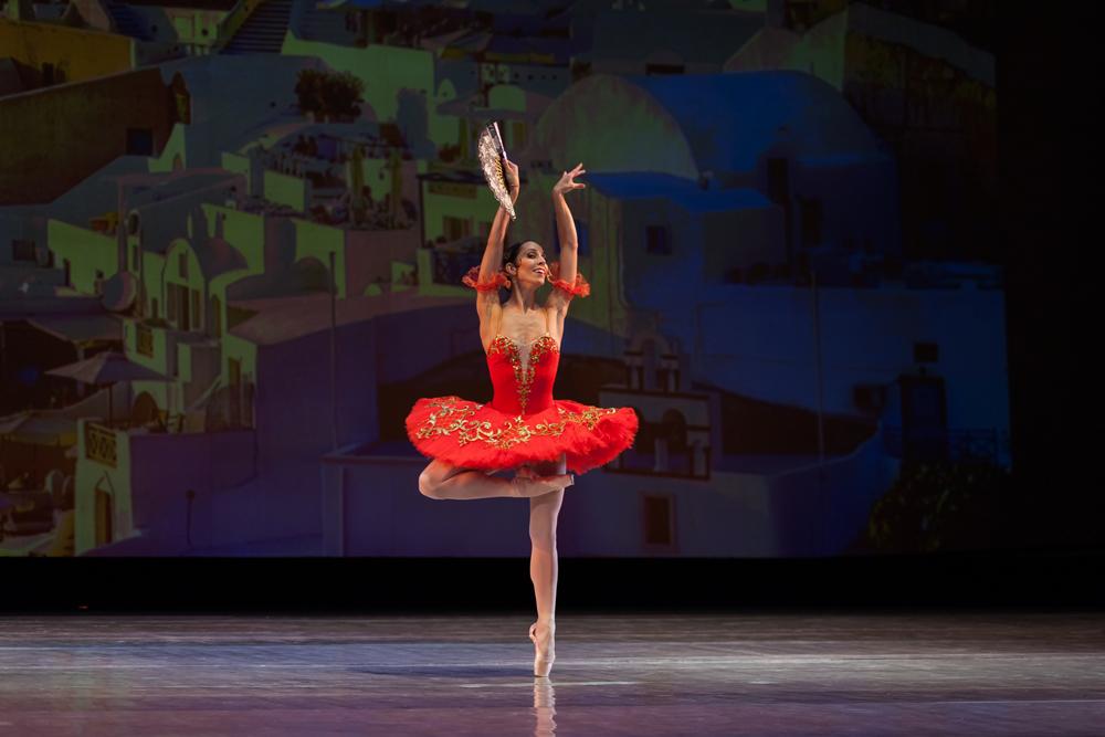Анна София Шеллер в партии Китри из балета «Дон Кихот»