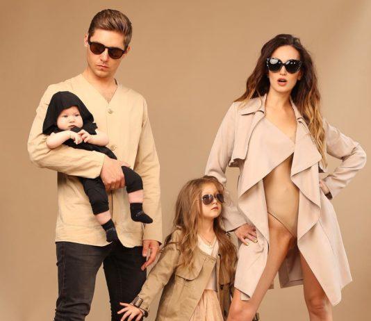 Остапчук с семьей