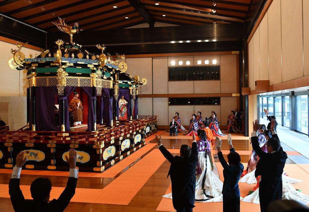 Интронизация императора Японии