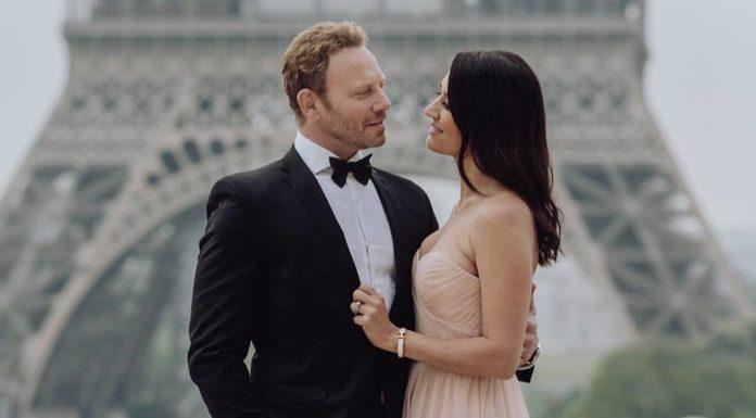 Ян Зиринг с женой