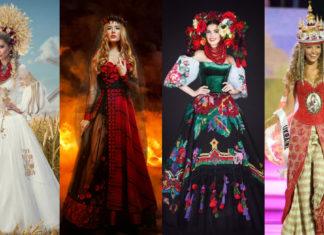 Национальные костюмы Украины на Мисс Вселенная