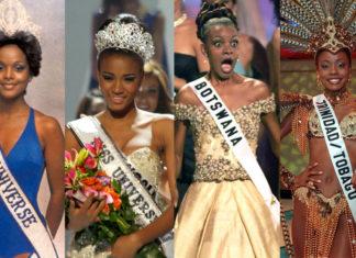 Чернокожие Мисс Вселенная