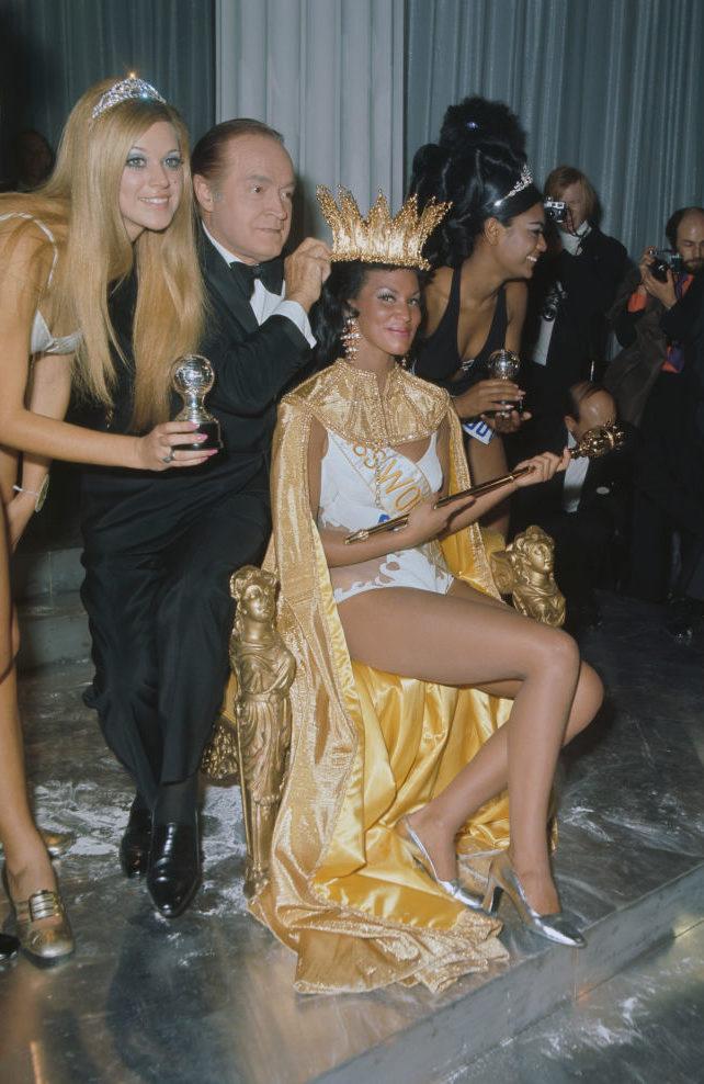 Мисс мира-1970 Дженнифер Хостен