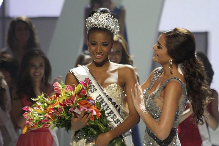 Мисс Вселенная 2011 Лейла Лопес Ангола