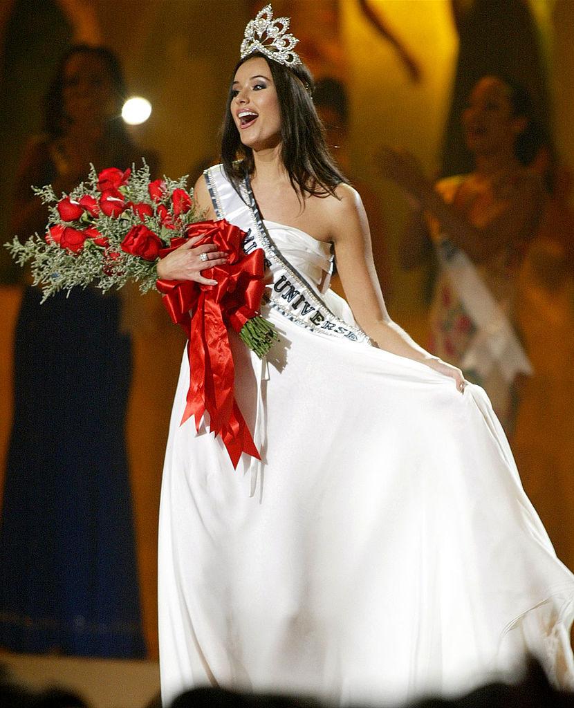 Мисс Вселенная-2002 Оксана Федорова