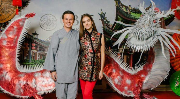 Дима Комаров с женой