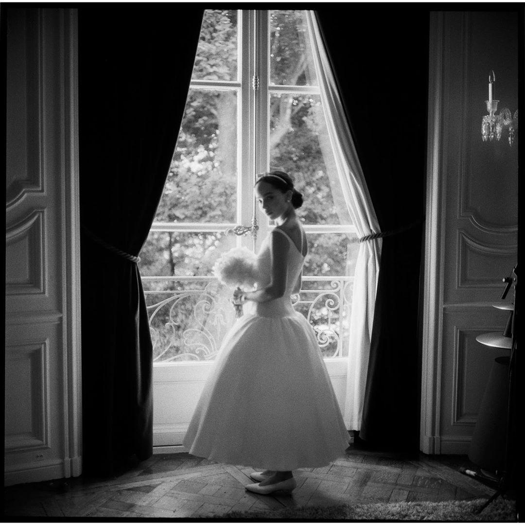 Свадебное платье Зои Кравиц