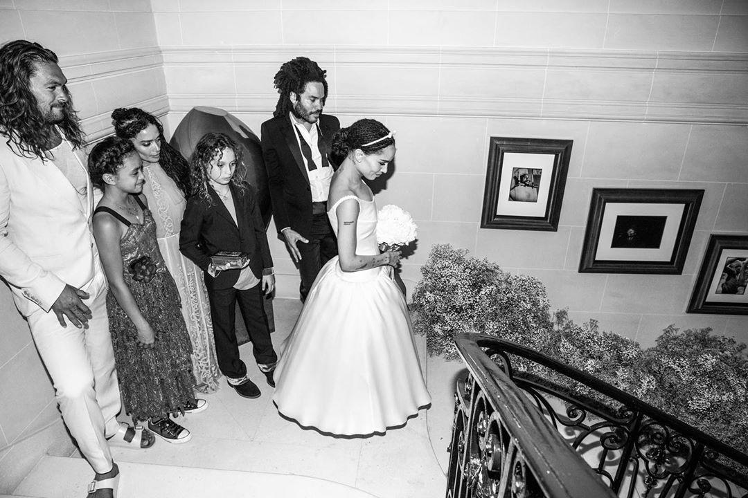 Свадьба Зои Кравиц