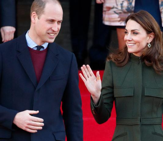 Принц Уильям и Кейт Миддлтон 2020