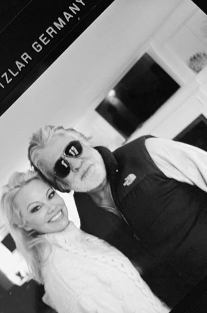 Памела Андерсон с мужем