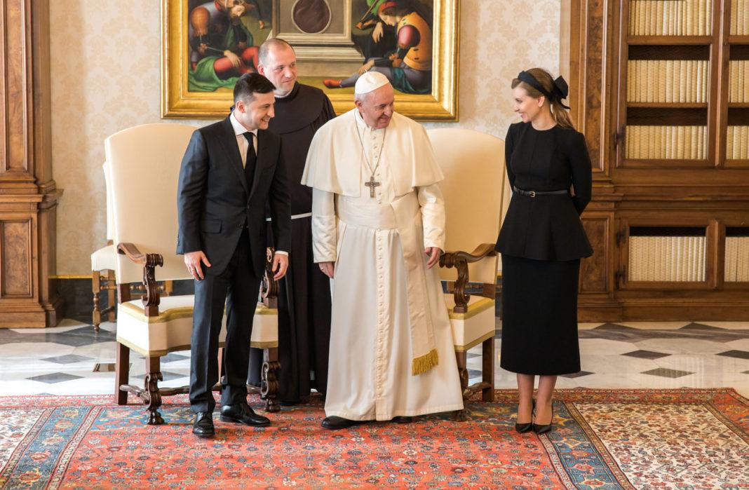 Зеленские в Ватикане