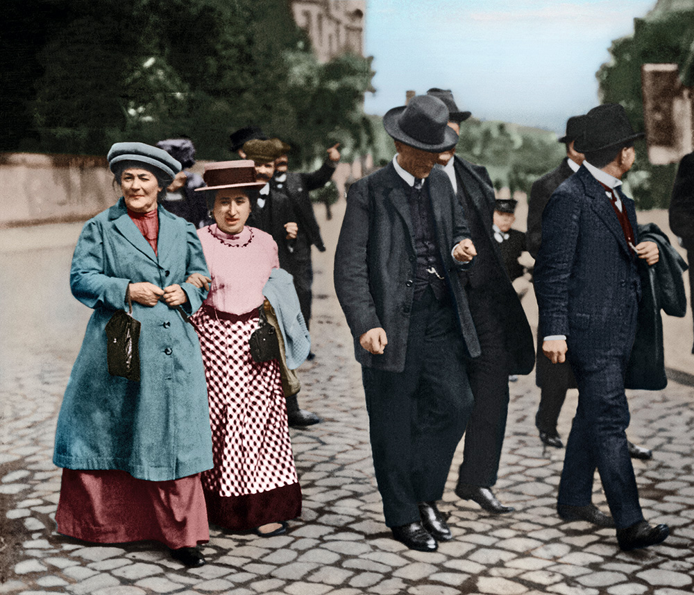Роза Люксембург и Клара Цеткин
