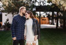 Юлия Санина с мужем