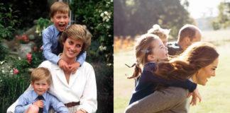 День Матери Принцесса Диана и Кейт Миддлтон
