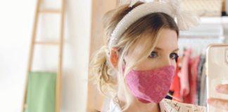 Самодельная медицинская маска