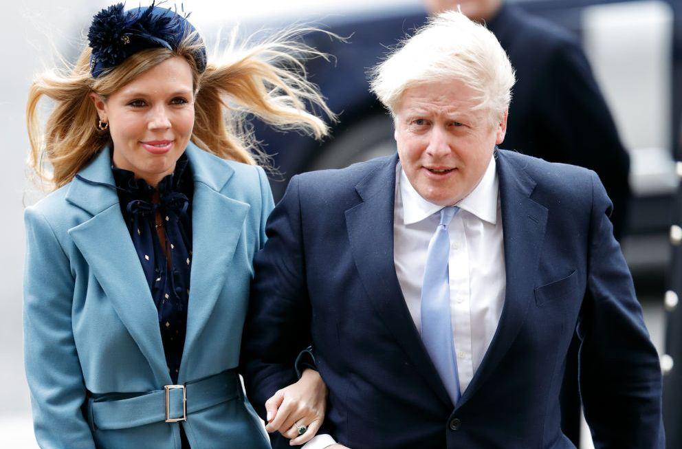 Борис Джонсон с невестой