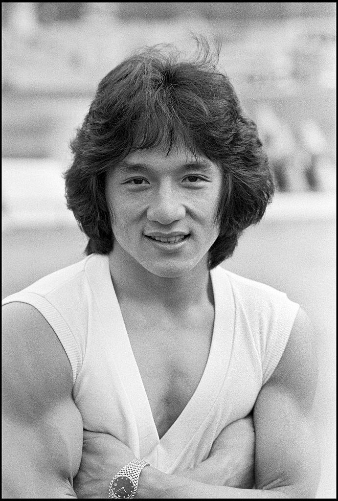 Джеки Чан в молодости
