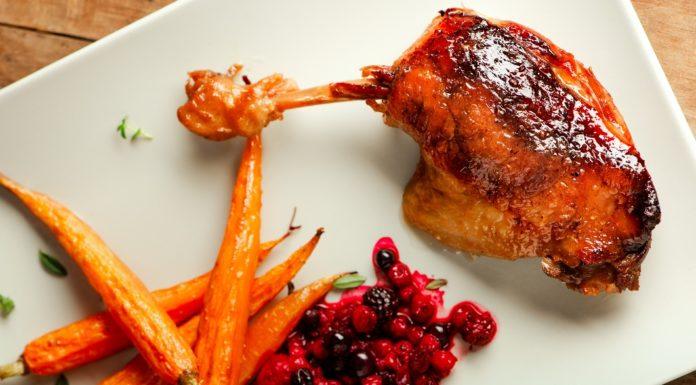 Рецпт утки в духовке