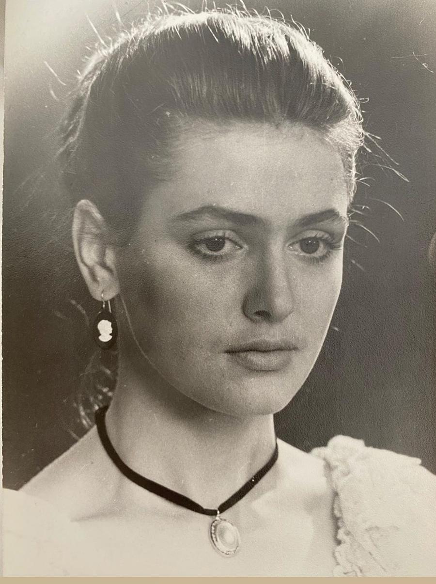 Ольга Сумская 17 лет