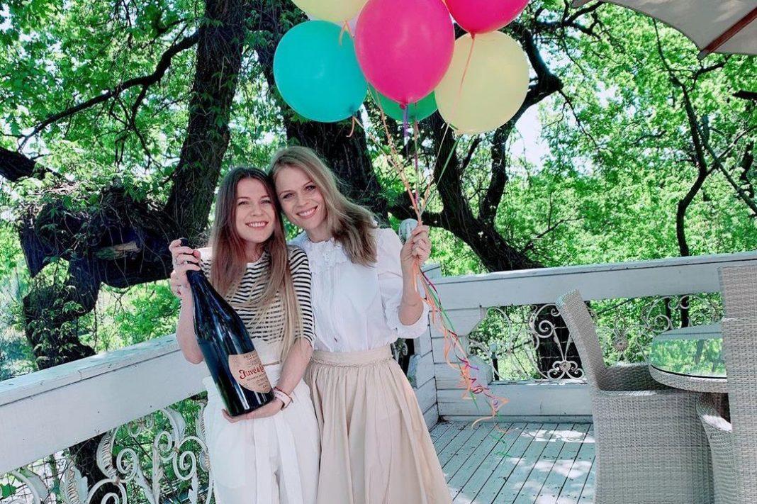 Ольга Фреймут с сестрой