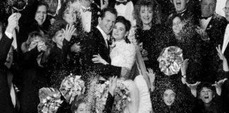 Свадьба Деми Мур и Брюса Уиллиса