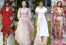 модные платья лето 2020