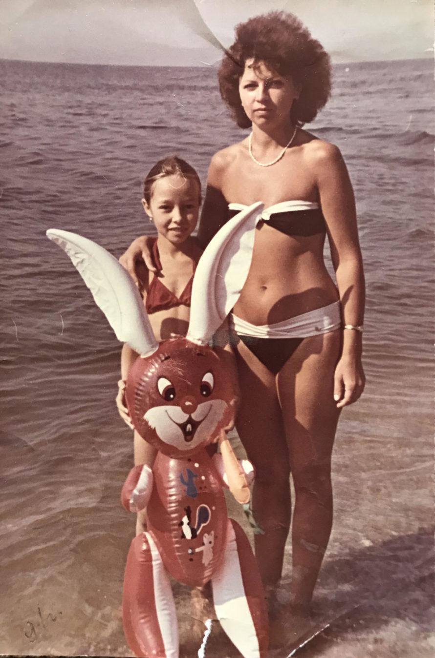Катерина Кухар с мамой
