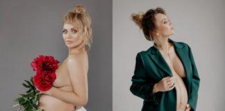 Анна Саливанчук беременная фотосессия