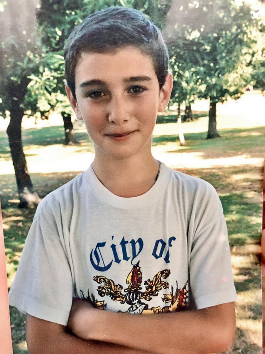 Иракли Макацария фото в детстве