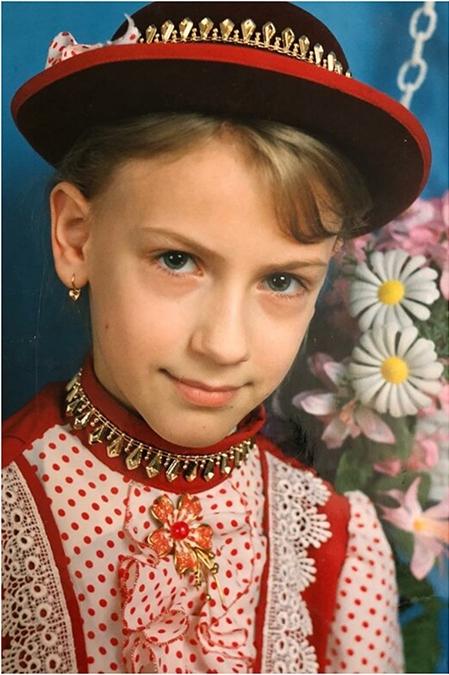 Леся Никитюк в детстве фото