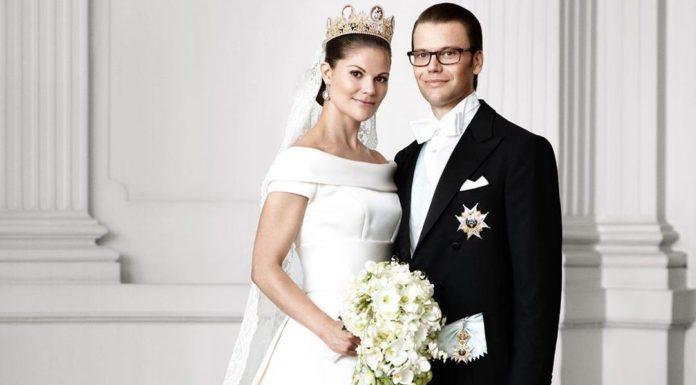 Кронпринцесса Виктория с мужем свадьба