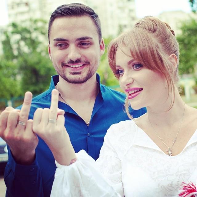 Свадьба Славы и Эдгара Каминского