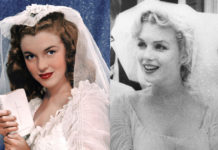 Свадьба Мэрилин Монро