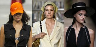 Модные бейсболки кепки шляпы и панамы лето 2020