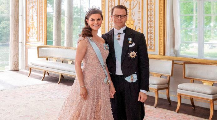 Кронпринцесса Швеции Виктория с мужем Даниэлем