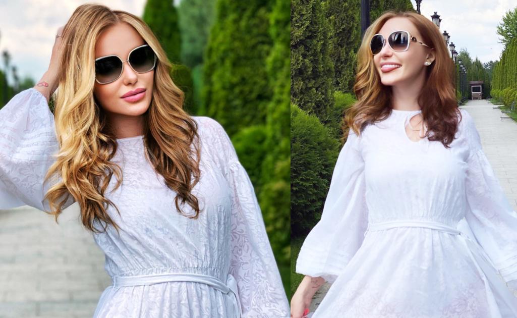 Слава Каминская свадебное платье