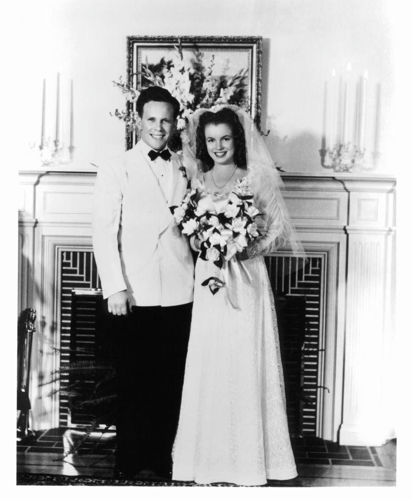 Мэрилин Монро первая свадьба