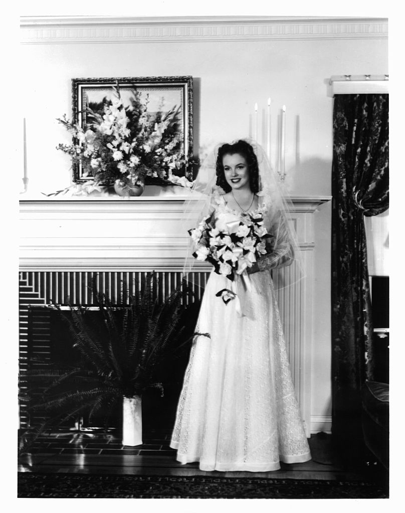 Первая Свадьба Мэрилин Монро